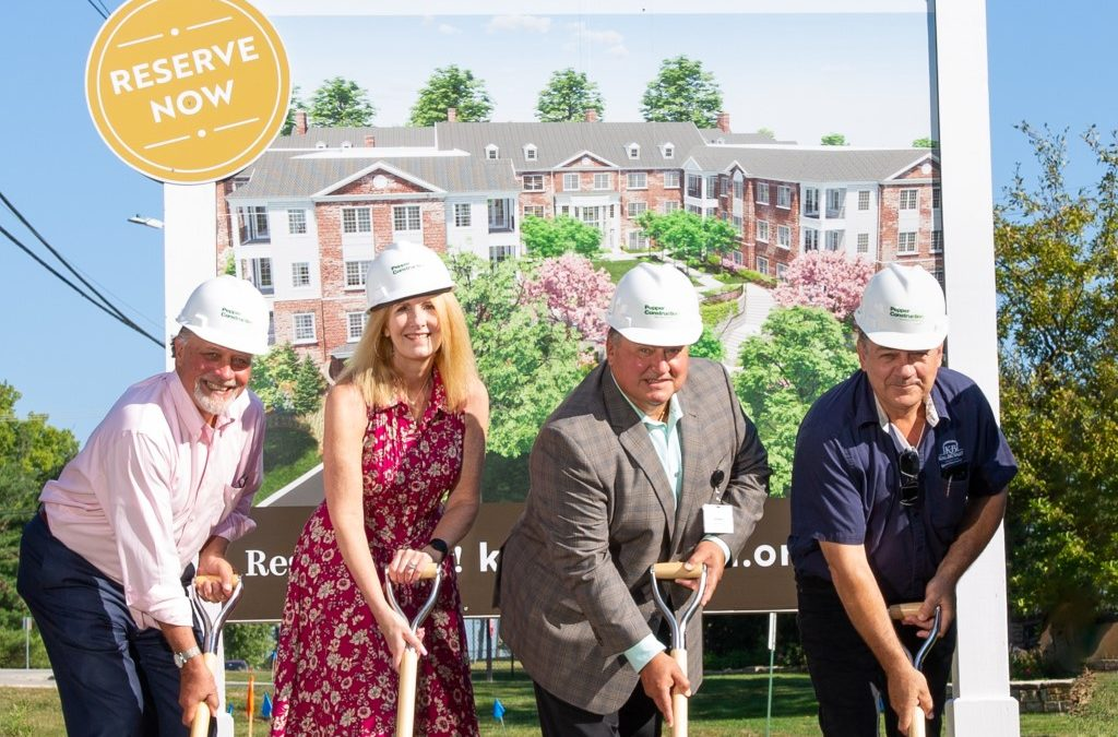 King-Bruwaert House hosts groundbreaking for campus expansion plans